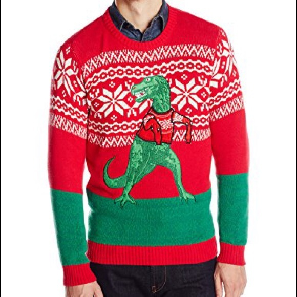 33 Degrees Sweaters Ugly Christmas Sweater Trex Poshmark